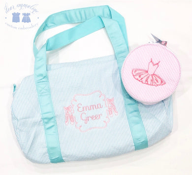 Ballerina Button Bag