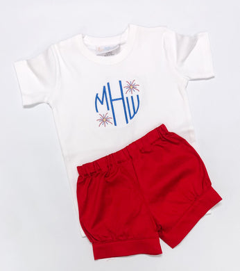 Patriotic Monogram Shirt *Boys & Girls* (Patriotic 2020)