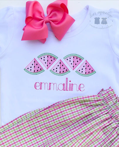 Watermelon Sketch Row Shirt