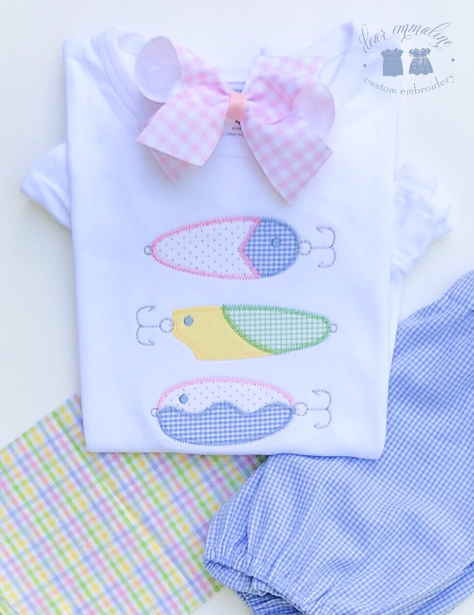 Girls Fishing Lure Shirt