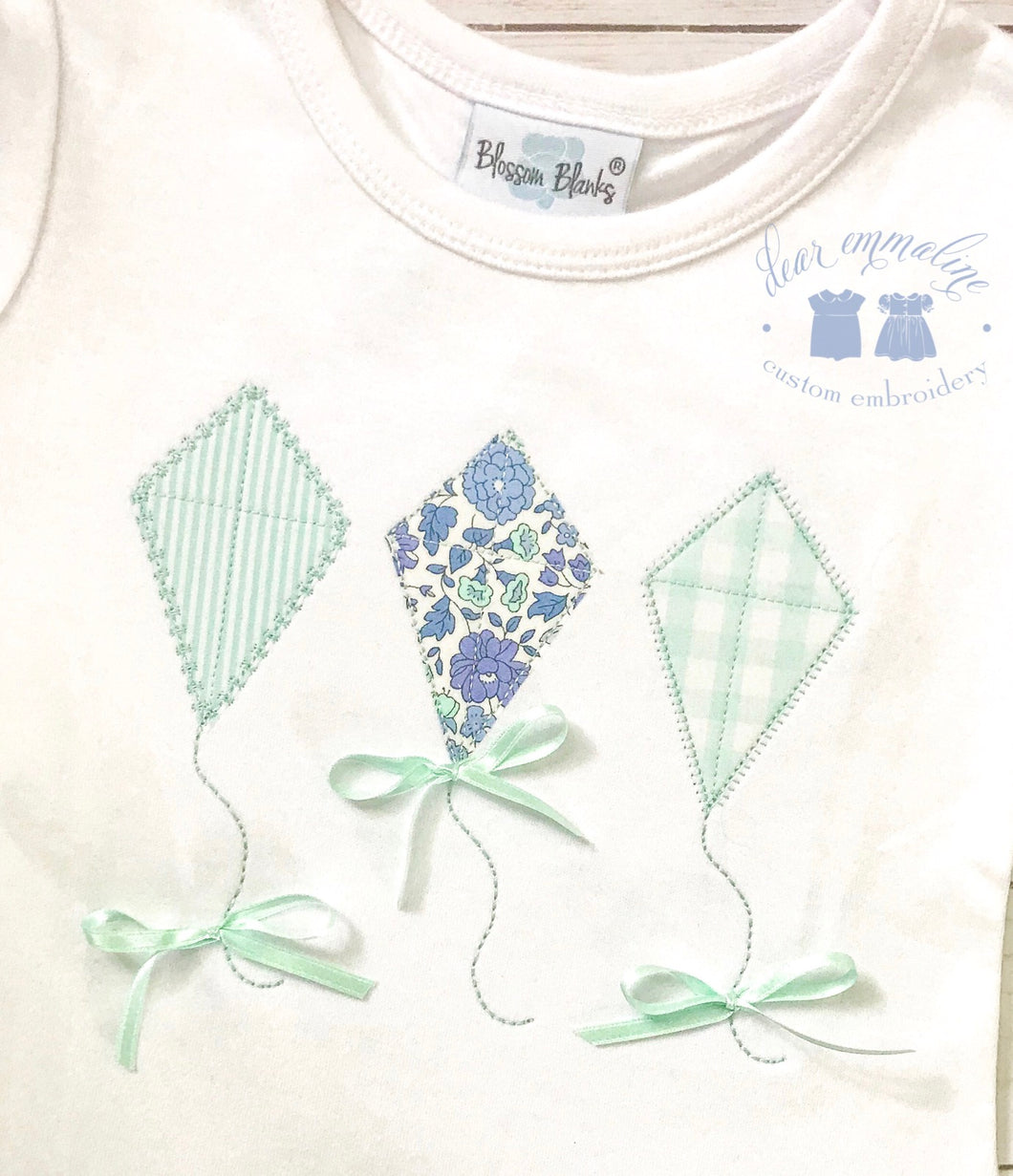 D'Anjo Liberty Kite Trio with Bows Shirt