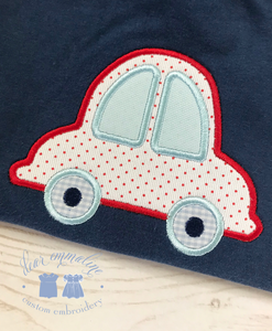 Bubble Car Applique Shirt