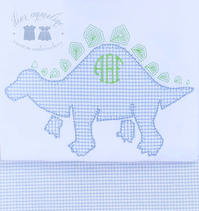 Stegosaurus Applique Shirt