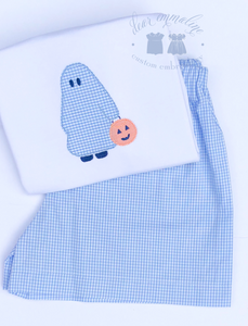 Boys Ghost Trick or Treater Shirt