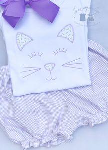 Kitten Applique Shirt