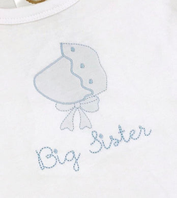 Big Sister Bonnet Shadow Embroidery Shirt