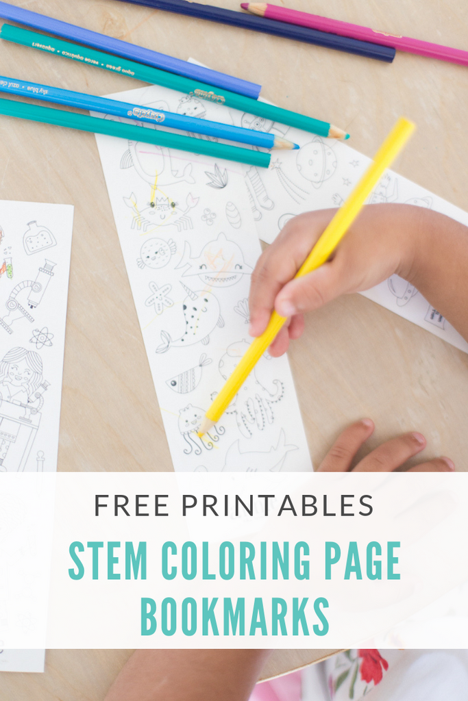photo about Braves Printable Schedule identified as Annie the Courageous STEM Bookmark Coloring Web pages
