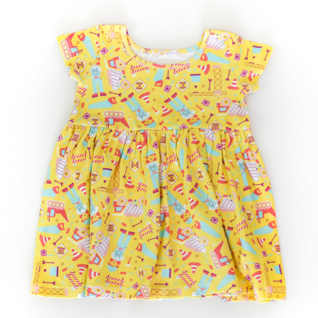 Construction Play Dress