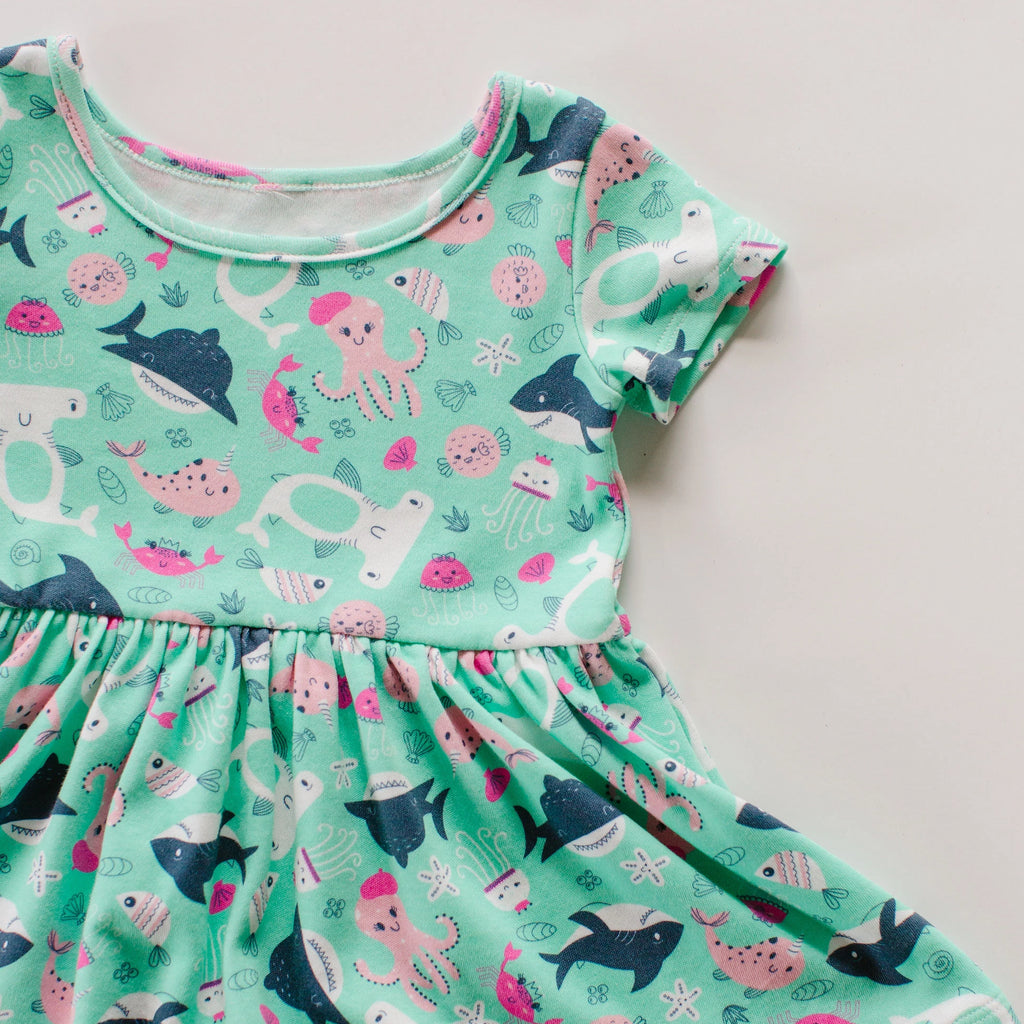 Sea Play Dress