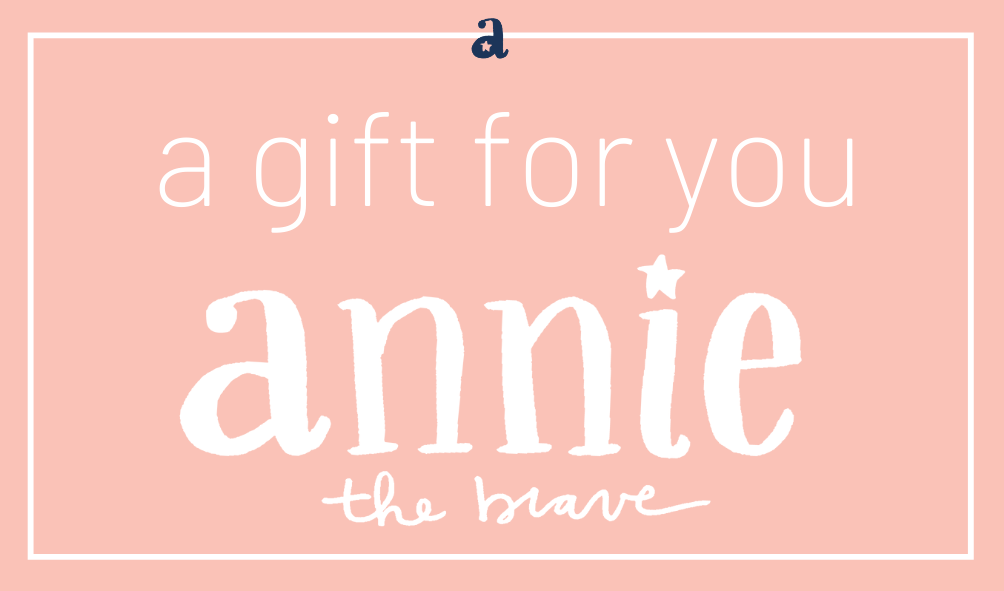 Annie the Brave Gift Card