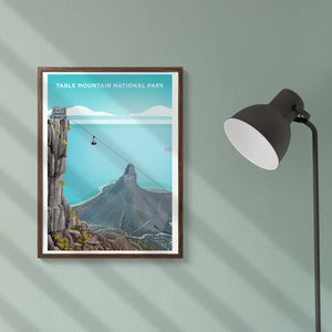 Table Mountain National Park Poster