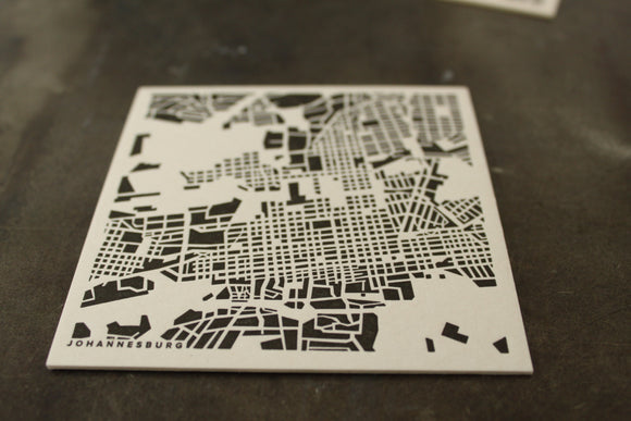 City grid coasters