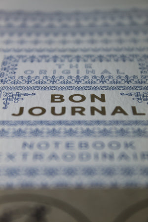 blue bon journal