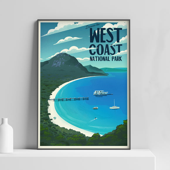 West Coast National Park Poster