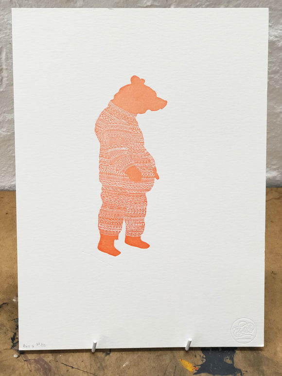 Pajama Bear Artwork