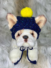 Load image into Gallery viewer, fancybullcreations party blue puppy dog hat