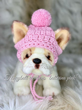 Load image into Gallery viewer, Fashionable French Bulldog puppy hats