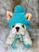 Load image into Gallery viewer, turquoise pet hat