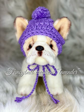 Load image into Gallery viewer, lavender puppy dog hat