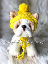 Load image into Gallery viewer, Sunny yellow puppy dog hat