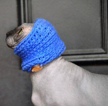"Load image into Gallery viewer, Handmade Crochet ""Kitty Kowl"" Cat cowl"
