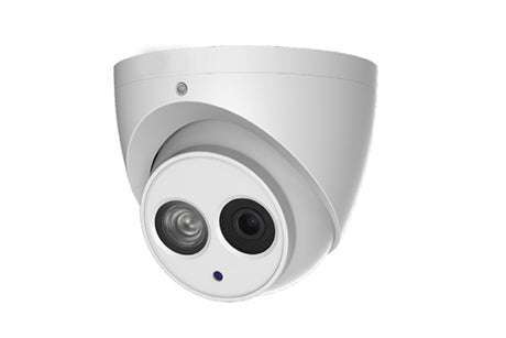 C-HAC-HDW2401EM 4MP CVI Turret IR Dome Camera