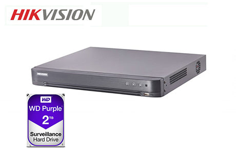 DS-7208HUHI-K2-2TB   5MP TVI 8CH DVR