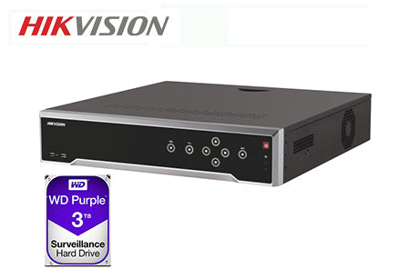 DS-7732NI-I4-16P-3TB  Hikvision 32ch NVR