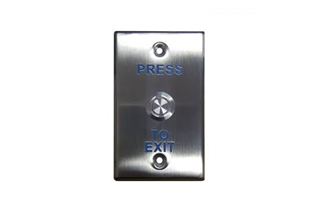 A-EX-PBT-019B-LED Exit Button S/STEEL