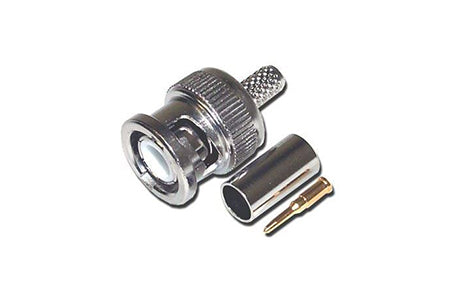 AC- BNC Connector 3PCS RG6 Crimp
