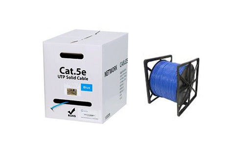 AC-Y8400BLURIB  Cat 5e Solid Core 305m (Reel in box)