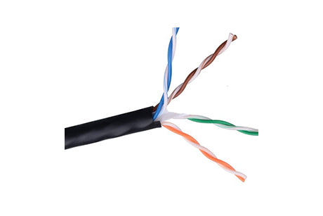 AC-Y8500BLK(Pull Box) Cat 6 Solid Core 305m