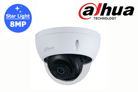 DH-IPC-HDBW2831EP-S2 Dahua 8MP Starlight Network Vandal Dome Camera