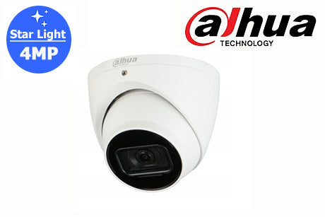 DH-IPC-HDW2431EM-AS-S2 Dahua 4MP Starlight Network Turret Camera