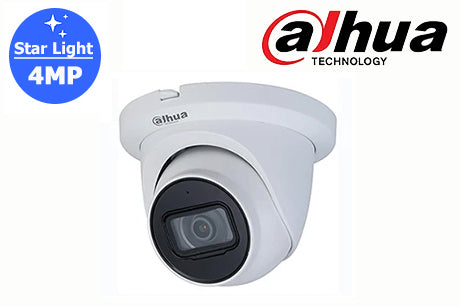 DH-IPC-HDW2431TMP-AS-S2 Dahua 4MP Starlight Network Turret Camera