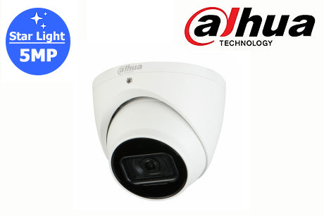 DH-IPC-HDW2531EM-AS-S2 Dahua 5MP Starlight Network Turret Camera