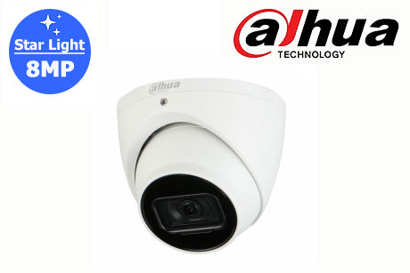 DH-IPC-HDW2831EM-AS-S2 Dahua 8MP Starlight Network Turret Camera