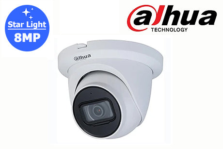 DH-IPC-HDW2831TMP-AS-S2 Dahua 8MP Starlight Network Turret Camera