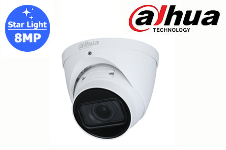 DH-IPC-HDW2831TP-ZS-27135-S2 Dahua 8MP Starlight Network MTZ Turret Camera