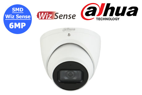 DH-IPC-HDW3641TMP-AS-0280B-AUS Dahua 6MP Wiz Sense Network Turret Camera