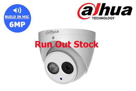 DH-IPC-HDW4631EMP-0280B Dahua 6MP Network Turret Camera