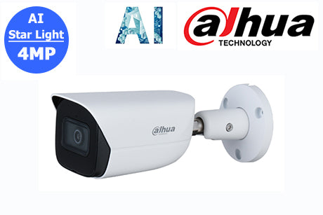 DH-IPC-HFW3441EP-AS-0280B Dahua 4MP Starlight Lite AI Network Bullet Camera