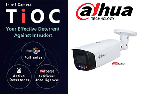 DH-IPC-HFW3549TP-AS-PV-0280B  5MP Full-color Active Deterrence WizSense Network Camera