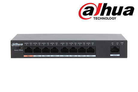 DH-PFS3009-8ET-96 Dahua 8 Port POE Switch (unmanaged)