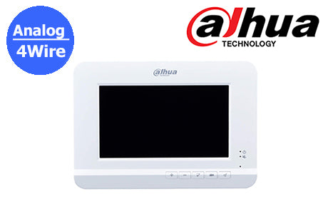 DHI-VTH2020DW Dahua 4Wire analog intercom indoor monitor