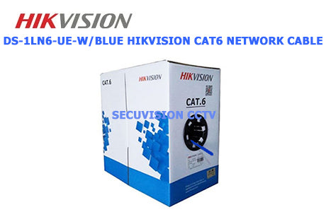DS-1LN6-UE-W/BLUE HIKVISION CAT6 Network Cable