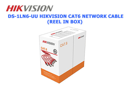DS-1LN6-UU HIKVISION CAT6 Network Cable (Reel in Box)