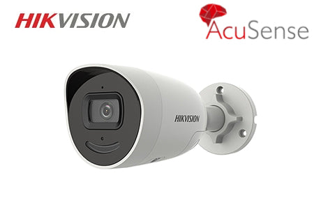 DS-2CD2046G2-IU/SL HIKVISION 4MP AcuSense Mini Bullet Network Camera 2.8mm Lens