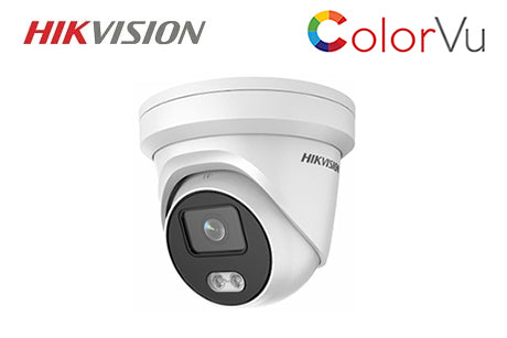 DS-2CD2347G1-LU2 (2.8mm)  HIKVISION 4MP ColorVu Network Turret Dome Camera