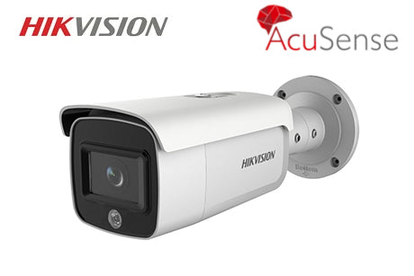 DS-2CD2T46G1-4I/SL HIKVISION 4MP AcuSense Bullet Network Camera 2.8mm Lens
